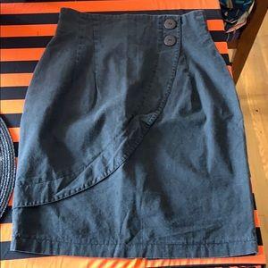 Vintage high-waisted black skirt 🕷🖤